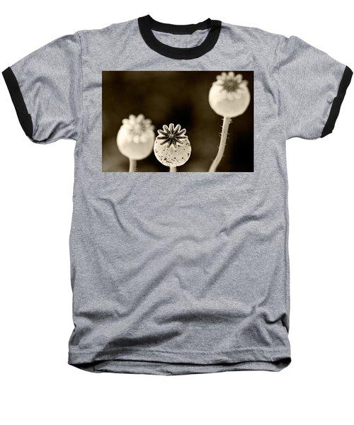 Round Hendecagon  Baseball T-Shirt by Melinda Ledsome