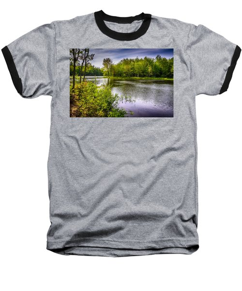 Baseball T-Shirt featuring the photograph Round The Bend 35 by Mark Myhaver