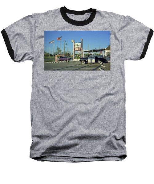 eec1bebf4 Route 66 - Anns Chicken Fry House Baseball T-Shirt