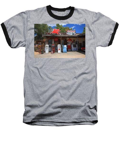 Route 66 - Hackberry General Store Baseball T-Shirt