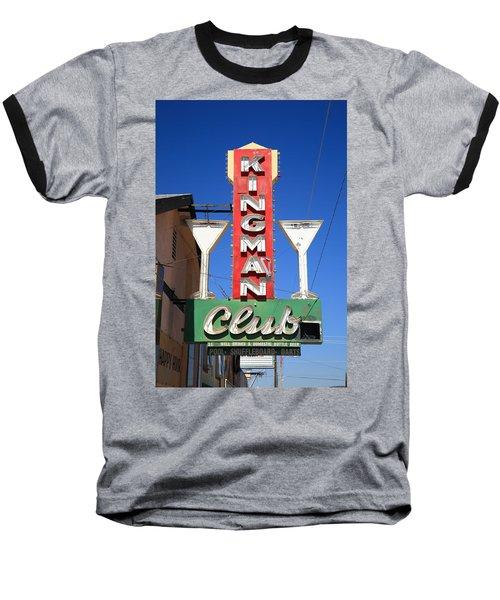 Route 66 - Kingman Club Baseball T-Shirt