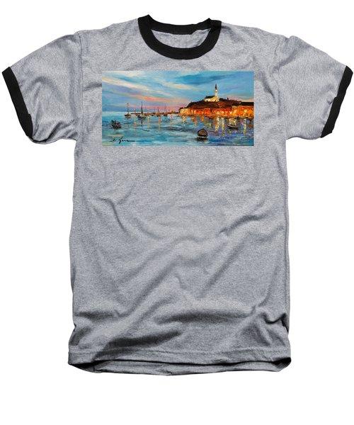 Rovanij Harbour Baseball T-Shirt