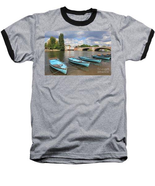 Rowing Boats At Hampton Court Baseball T-Shirt