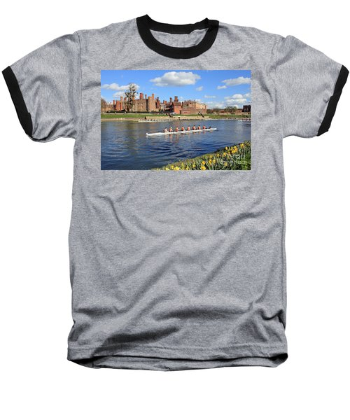 Rowing On The Thames At Hampton Court Baseball T-Shirt