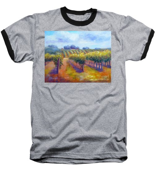 Rows Of Vines Baseball T-Shirt