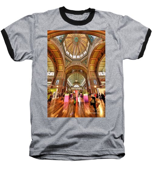 Royal Exhibition Building II Baseball T-Shirt