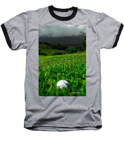 Baseball T-Shirt featuring the photograph Royal Hawaiian Golf by Angela DeFrias