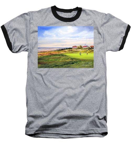 Royal Liverpool Golf Course Hoylake Baseball T-Shirt