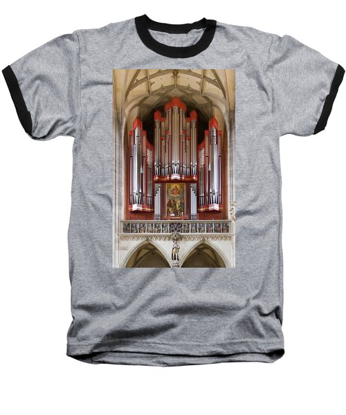 Royal Red King Of Instruments Baseball T-Shirt