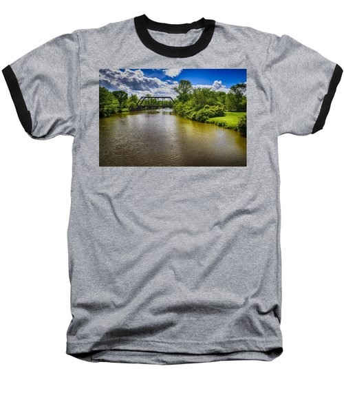 Baseball T-Shirt featuring the photograph Royal River by Mark Myhaver