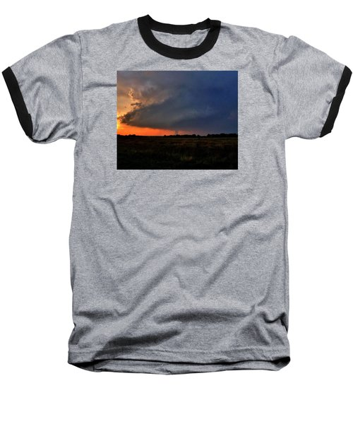 Baseball T-Shirt featuring the photograph Rozel Tornado by Ed Sweeney