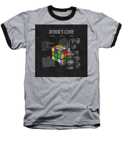 Rubik's Cube Patent 3 Baseball T-Shirt
