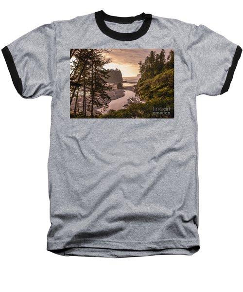 Ruby Beach Landscape Baseball T-Shirt