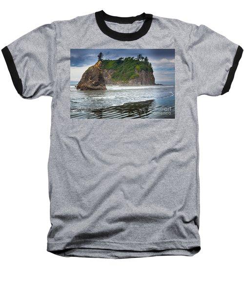 Ruby Beach Seastack Baseball T-Shirt