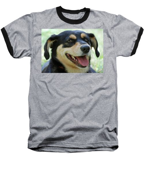 Baseball T-Shirt featuring the photograph Ruby by Lisa Phillips