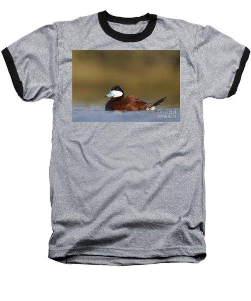 Baseball T-Shirt featuring the photograph Ruddy Duck  by Bryan Keil