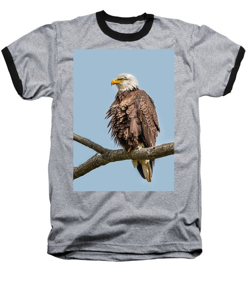 Ruffled Feathers Bald Eagle Baseball T-Shirt