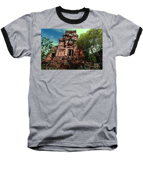Ruin At Angkor Baseball T-Shirt