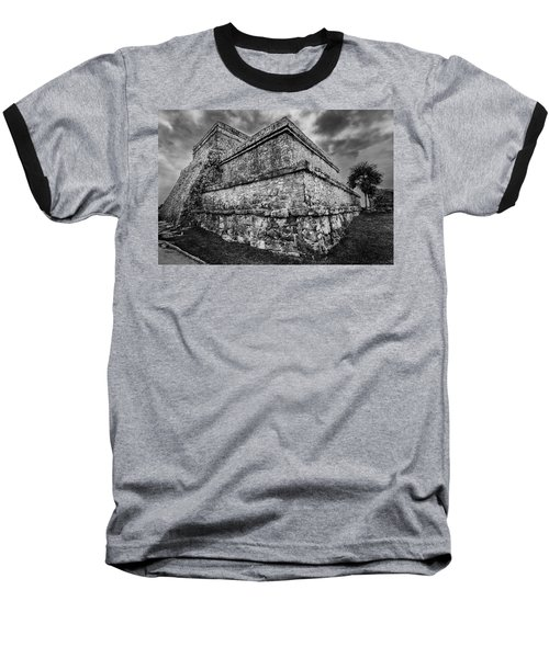Ruin At Tulum Baseball T-Shirt