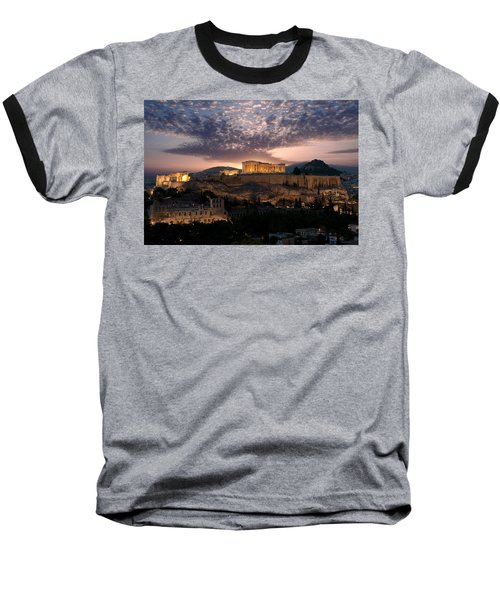 Ruins Of A Temple, Athens, Attica Baseball T-Shirt