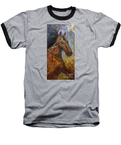 Run Wild Run Free Baseball T-Shirt