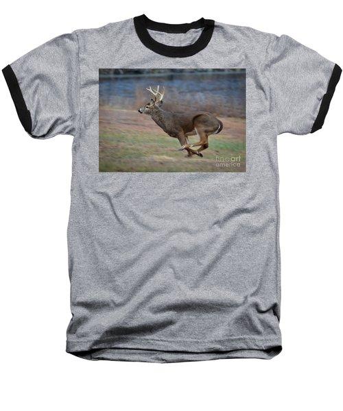 Running Buck Baseball T-Shirt