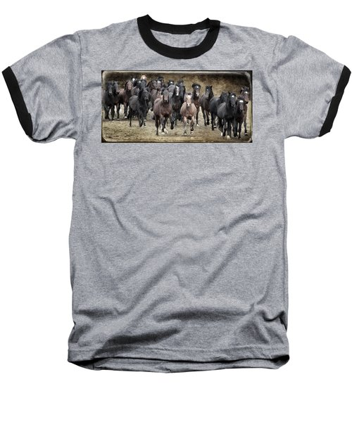 Running Wild Baseball T-Shirt