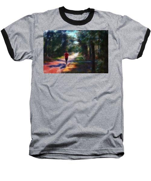 Running Baseball T-Shirt