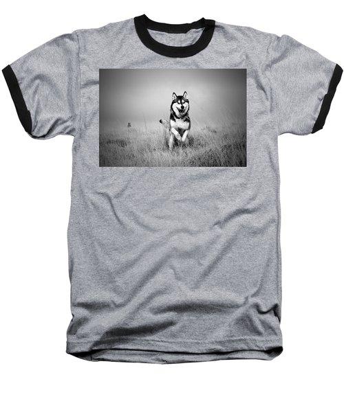 Running Wolf Baseball T-Shirt