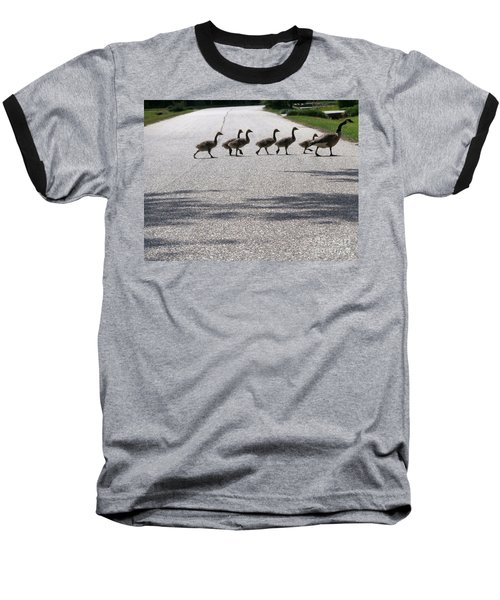 Rural Crossing Baseball T-Shirt