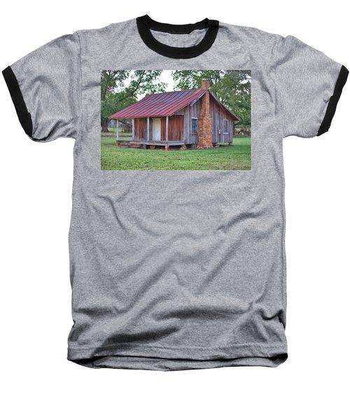 Baseball T-Shirt featuring the photograph Rural Georgia Cabin by Gordon Elwell