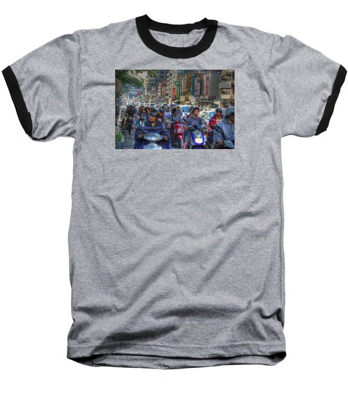 Rush Hour Baseball T-Shirt