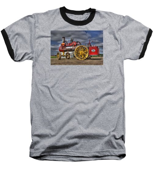 Russell Steam Baseball T-Shirt by Shelly Gunderson