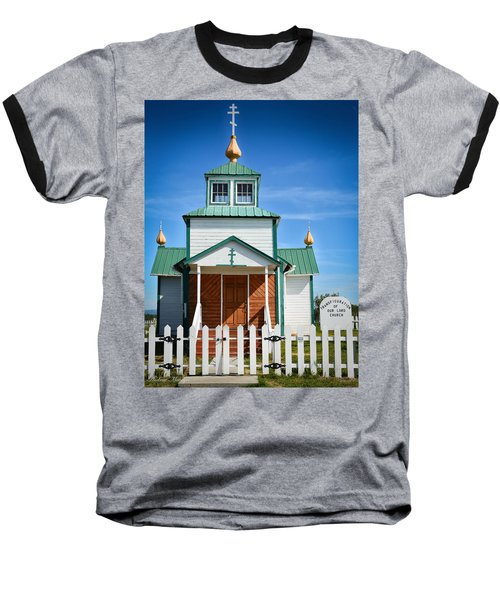 Russian Orthodox Church Baseball T-Shirt