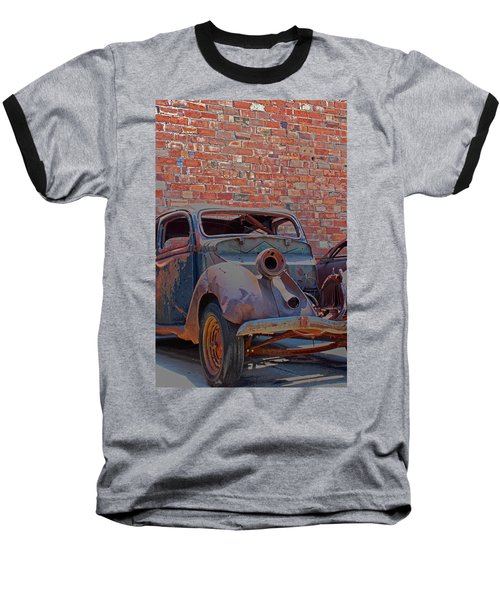Baseball T-Shirt featuring the photograph Rust In Goodland by Lynn Sprowl