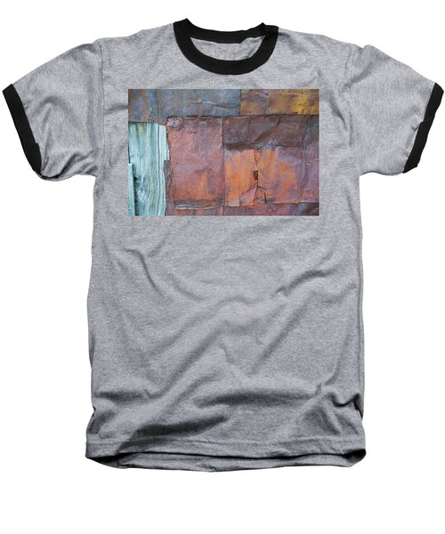 Rust Squared Baseball T-Shirt