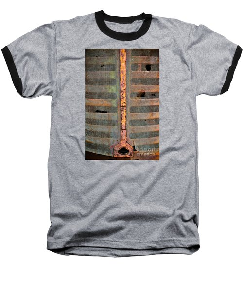 Rusted Grill - Abstract Baseball T-Shirt