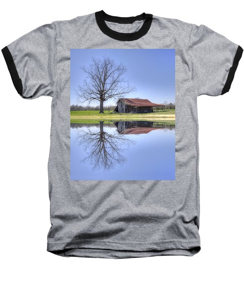 Rustic Barn Baseball T-Shirt