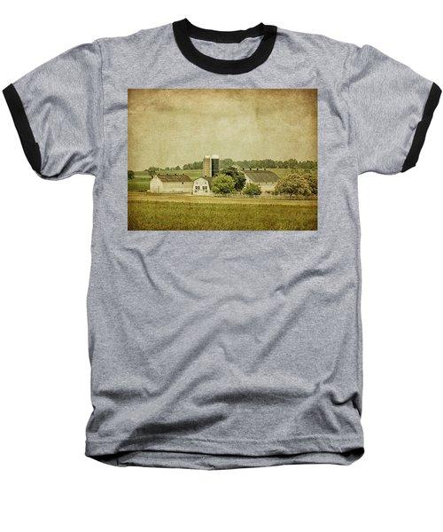 Rustic Farm - Barn Baseball T-Shirt
