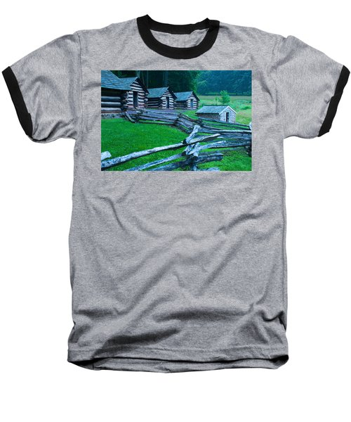Rustic Life Baseball T-Shirt by Michael Porchik