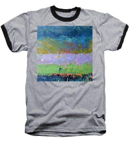 Rustic Roadside Series - Lilac Bushes Baseball T-Shirt