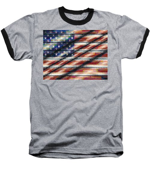 Rustic Usa Baseball T-Shirt