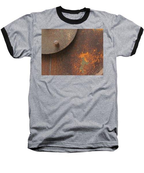 Rusty Abstraction Baseball T-Shirt