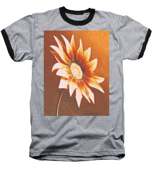 Rusty Gazania Baseball T-Shirt