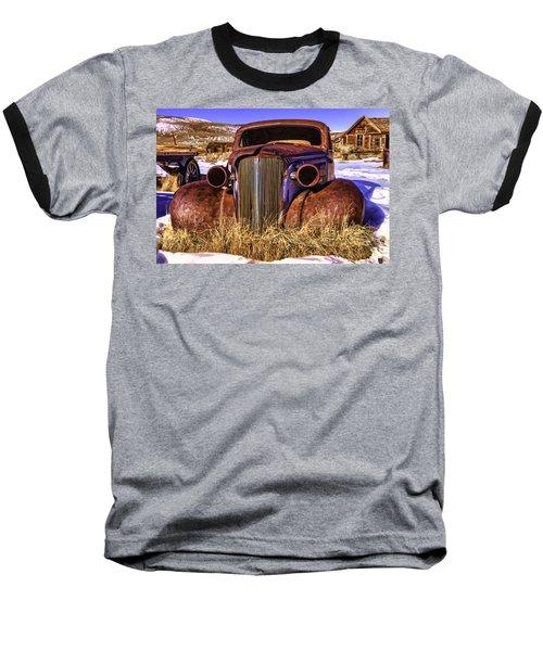 Baseball T-Shirt featuring the painting Rusty by Muhie Kanawati