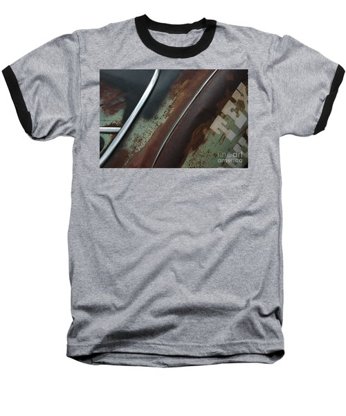 Baseball T-Shirt featuring the photograph Rusty Rat by Christiane Hellner-OBrien