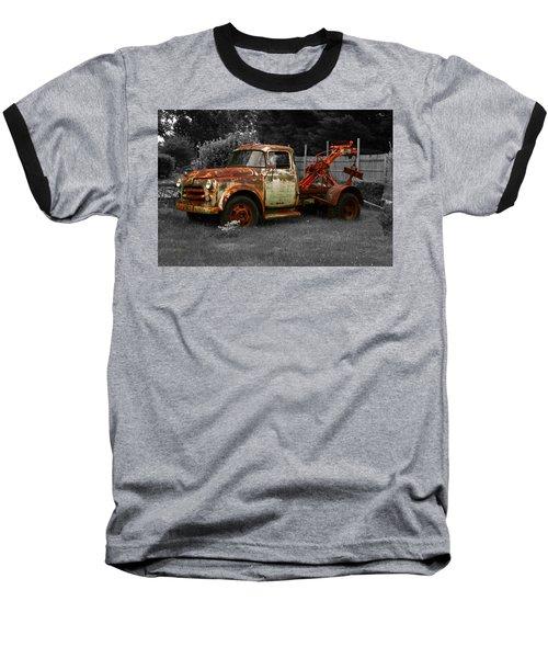 Rusty Tow Truck Baseball T-Shirt
