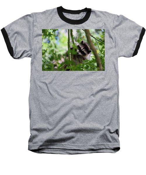 Rut Row I'm Falling Baseball T-Shirt by Kym Backland