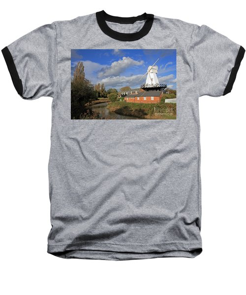 Rye Windmill Baseball T-Shirt