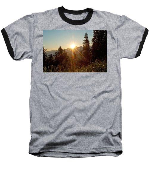 Sabbath Sunset Baseball T-Shirt by Tikvah's Hope